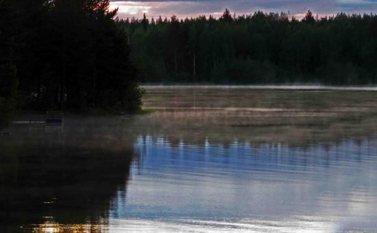 Lac carelie finlande