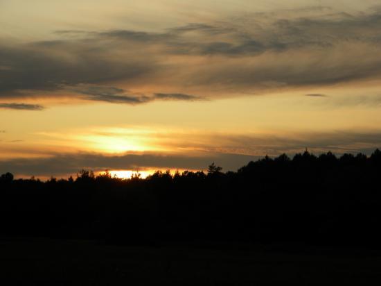 Crépuscule sur l'Estonie