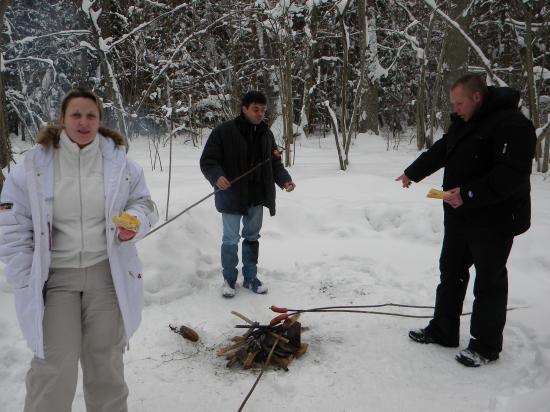 Saucisse partie!  février 2010, Bialowieza