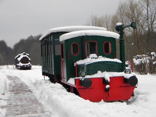 Vieille locomotive Biélorusses