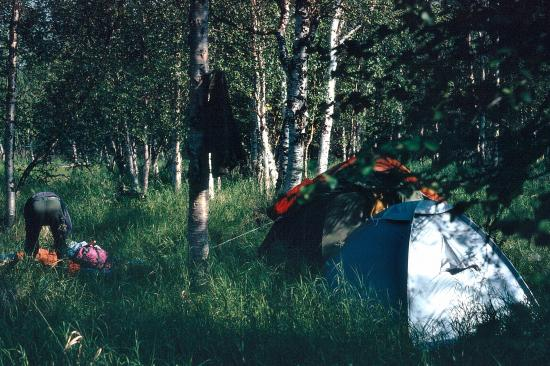 Le camps à Soomaa 2009